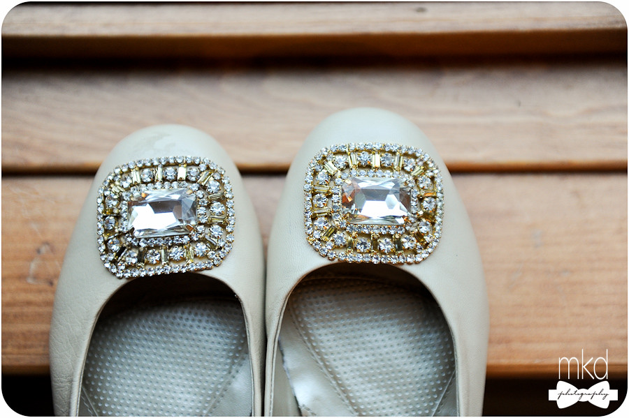 Diamond Wedding Slippers