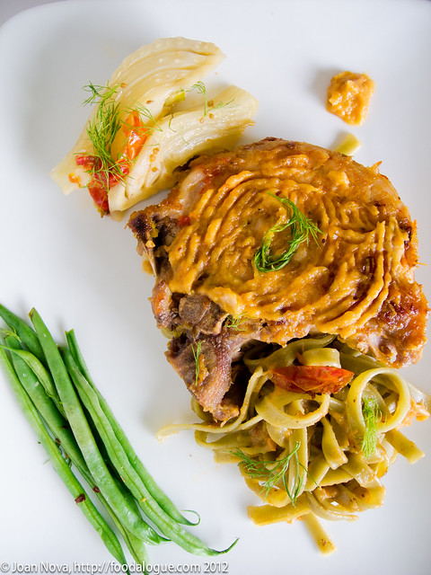 Braised Pork Chops and Fennel with Sambuca Sauce - FOODalogue