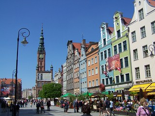 Gdansk. Old town.