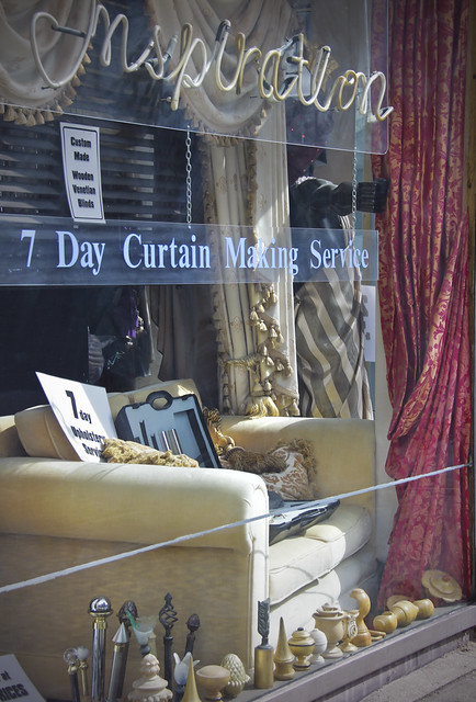 Off Marylebone High Street - curtain shop