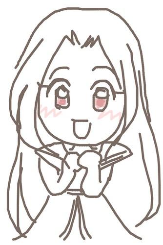 120526(2) - 聲優「恒松あゆみ」心血來潮畫出《Fate/Zero》所有角色的塗鴉、只有「久宇舞弥」發揮100%實力(笑) (2/18)