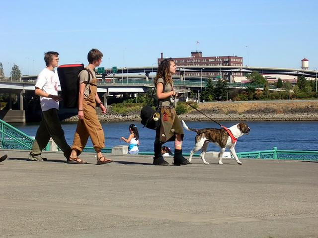 dog walkers portland