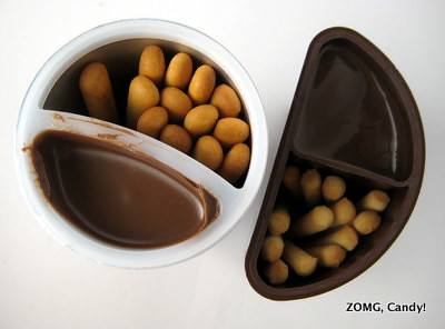 Nutella & Go vs Meiji Yan Yan Snack Packs