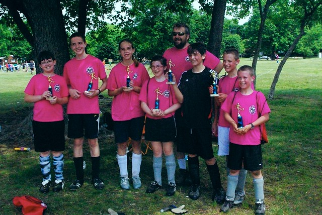 Pink Team - Saturday Soccer Champs
