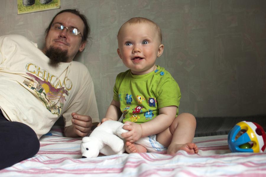 little boy Maksim