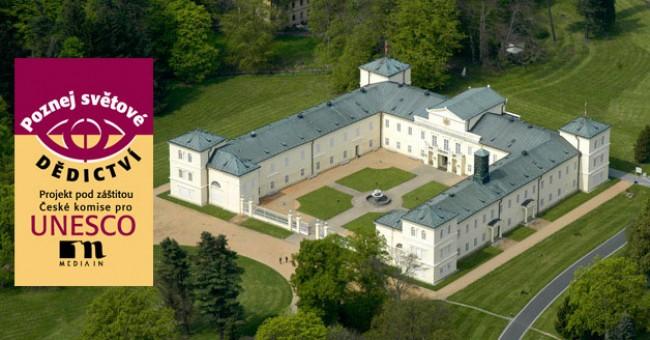 Světové dědictví UNESCO 2012 na zámku Kynžvart a v Praze