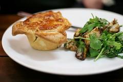 Beef, Mushroom and Havarti Cheese Pie