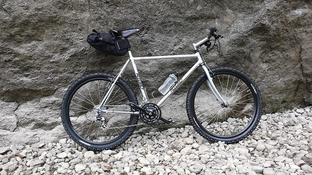 David's Classic Ritchey with medium saddlebag