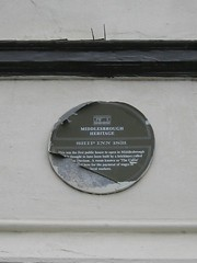 Photo of Green plaque № 10735