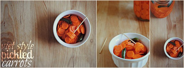 viet pickled carrots