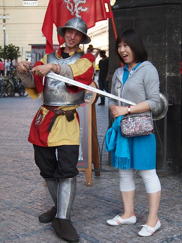 Prague has embraced the tourist
