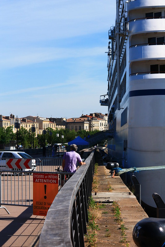 Paquebot m/s Nautica - Port de Bordeaux - 1er juin 2012
