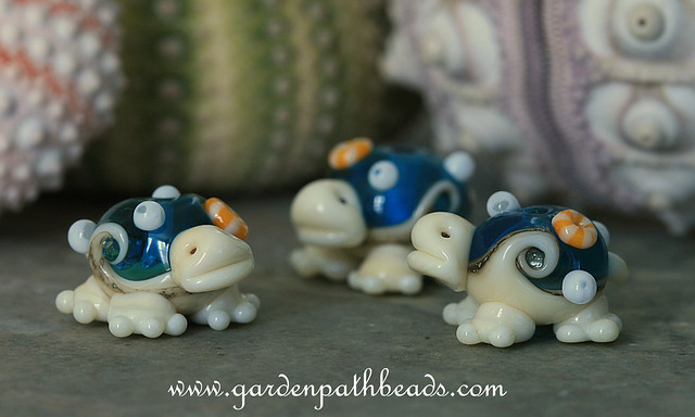 Sandy the Lampwork Sea Turtle