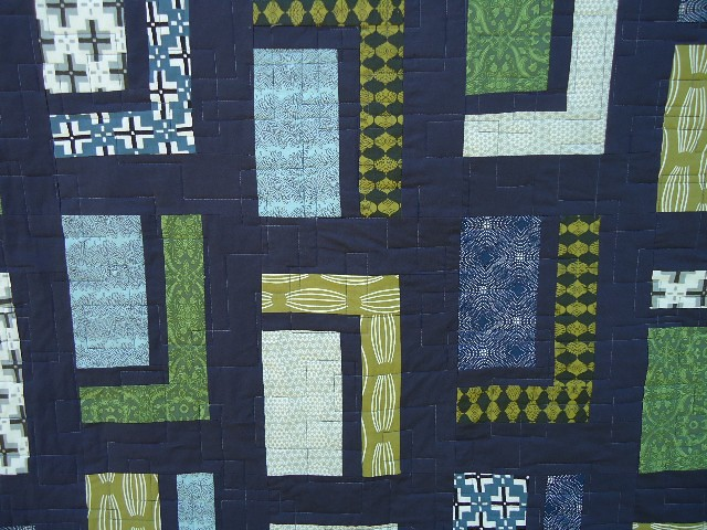 Quilt Pattern Urban Cabin : quilting detail Parson Gray Quilt Pattern is Urban Cabin ? Flickr - Photo Sharing!