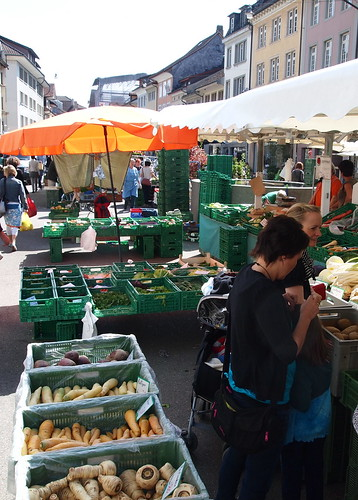 Winterthurer Altstadt, immer dienstags und freitags