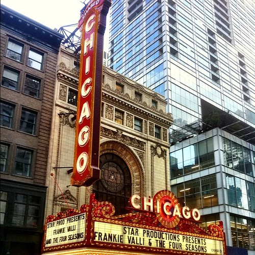 Chicago Theatre State/Lake St. by Abigail Harenberg