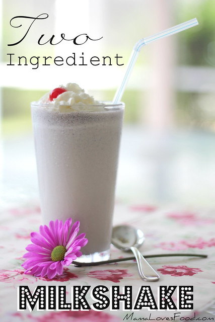 Two Ingredient Milkshake