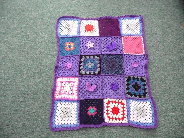 Pretty Purple Blanket.