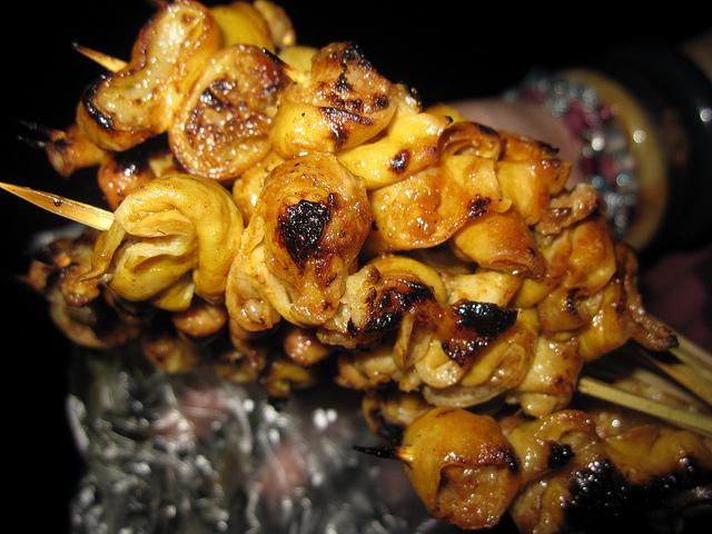 Delicious Filipino Isaw - Chicken Intestines!