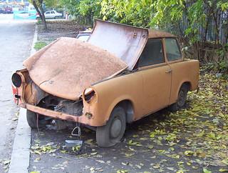 Ruined trabant