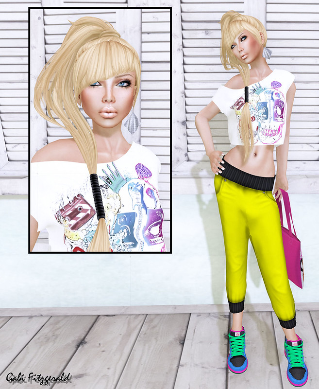 (Color Blocking Fair) Nous Vous - Tentacio - Mirror's Enigma