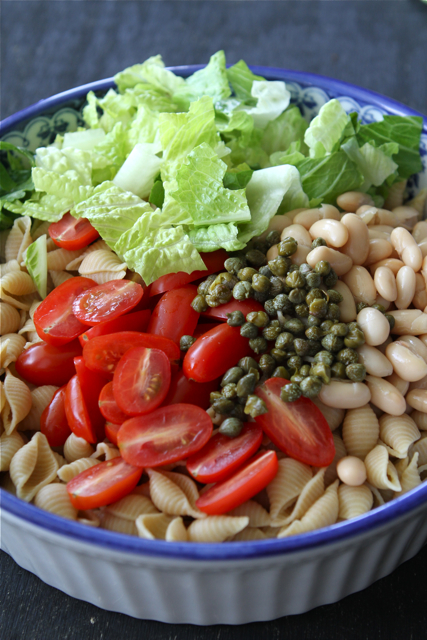 ... Salad With Beans, Capers & Balsamic Yogurt Dressing Recipes