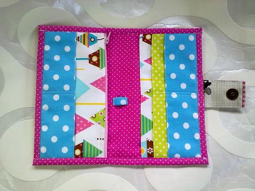 Carteira em PVC by ♥Linhas Arrojadas Atelier de costura♥Sonyaxana