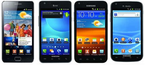 Samsung Galaxy S II: Claro, AT&T, T-Mobile y Sprint