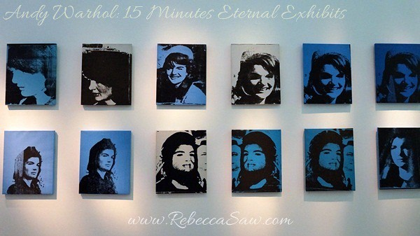 Andy Warhol 15 Minutes Eternal Exhibits - ArtScience Museum, Singapore (6)