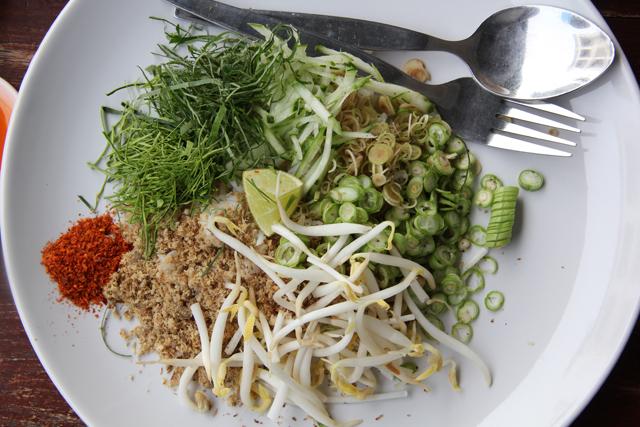 Khao Yam (Rice Salad) ข้าวยำ