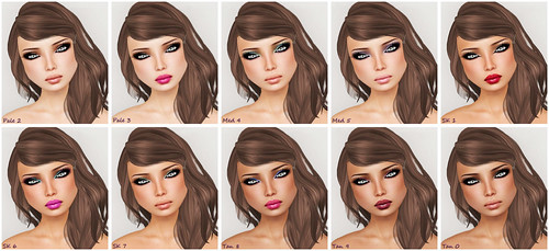 -Belleza- Lily V1 SE Make-ups and Skin Tones