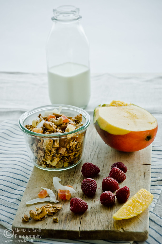 Tropical Fruit and Nut Granola (0351) by Meeta K. Wolff