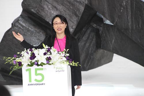 王雪紅_HTC台北總部落成啟用記者會20120613_賀大新攝影_01