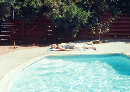 Asleep at the Pool