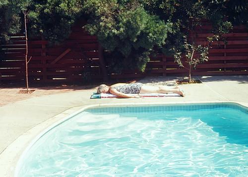 Asleep at the Pool