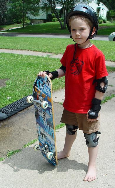 """new"" skateboard"