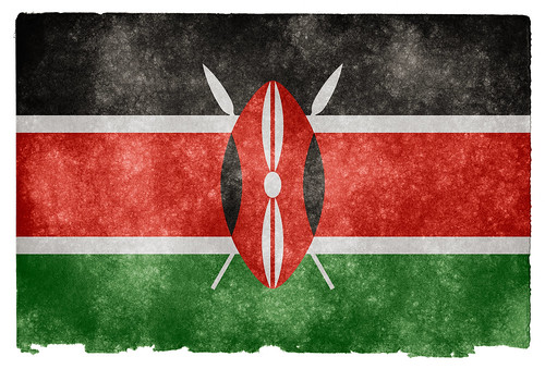 Kenya flag photo