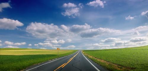無料写真素材, 建築物・町並み, 道路・道, 風景  アメリカ合衆国