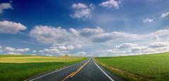 [フリー画像素材] 建築物・町並み, 道路・道, 風景 - アメリカ合衆国 ID:201206181000