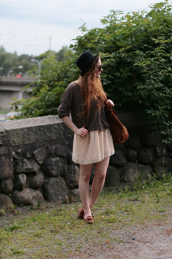 ida365 lace skirt
