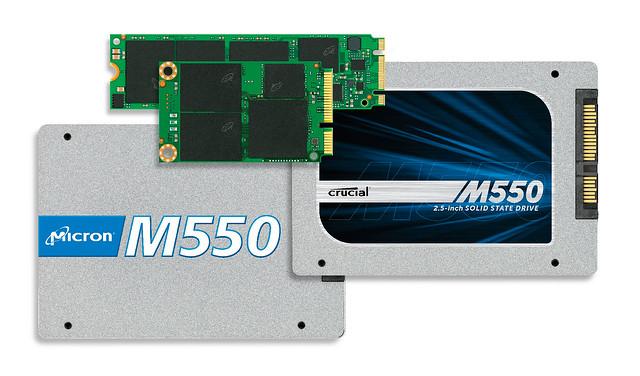 SSD m550