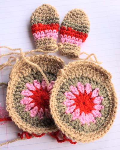 Crochet Easter bunny WIP