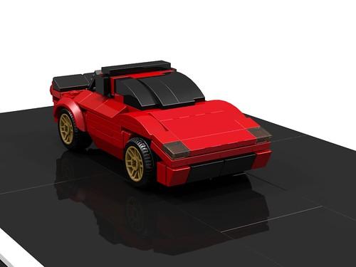 Lancia Stratos - 6-wide