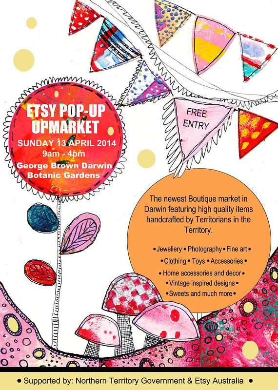ETSY Territorians Pop-Up Upmarket 2014