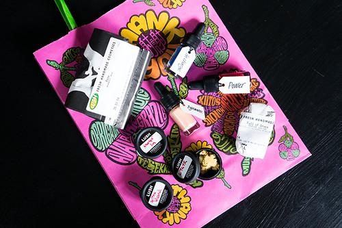 #OxMeet - Lush: Goody Bag | www.latenightnonsense.com
