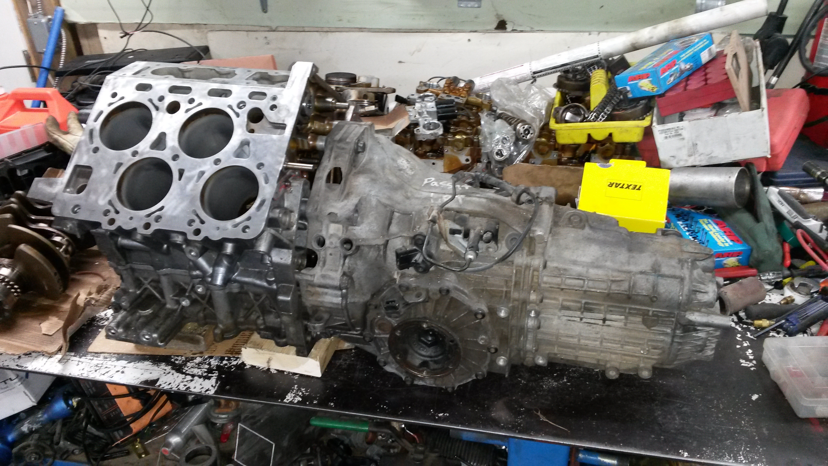 doing the impossible rebuilding a passat w8 engine