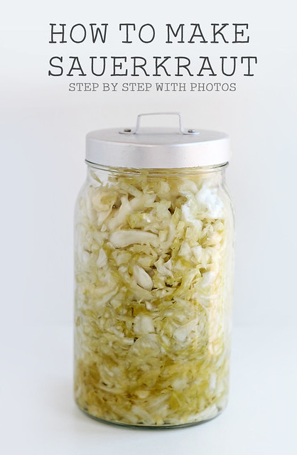 How To Make Sauerkraut Recipe with Step by Step -- Fermented foods taste amazing and are fabulous for your health! Try these great ideas to get your inspired! A great new years resolution!