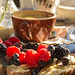 Berries, honey, butter and fresh bread... by Kodjii