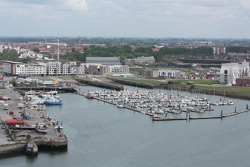 L'un des ports de plaisance de Dunkerque