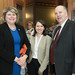 Realtor Susan Vaill met with State Representatives Rosa C. Rebimbas and David Labriola during annual Realtor Day events at the State Capitol on Monday, May 2, 2016.   Realtors from across the state come to the Capitol to meet with elected officials to discuss legislation, the real estate market in the state and to look for ways to improve Connecticut.